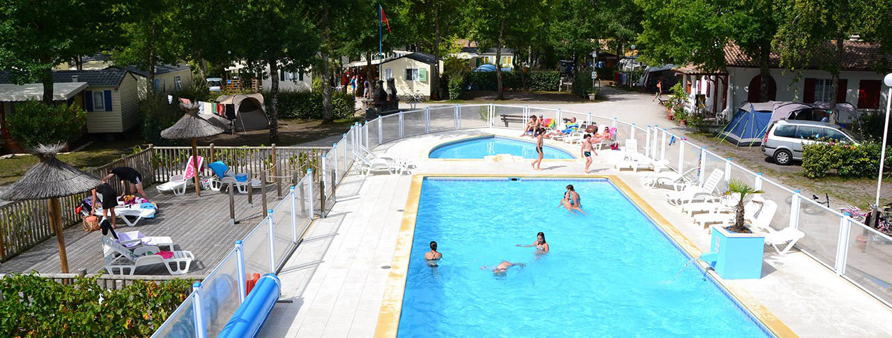Camping la canadienne ar s 33 gironde aquitaine for Camping gironde avec piscine