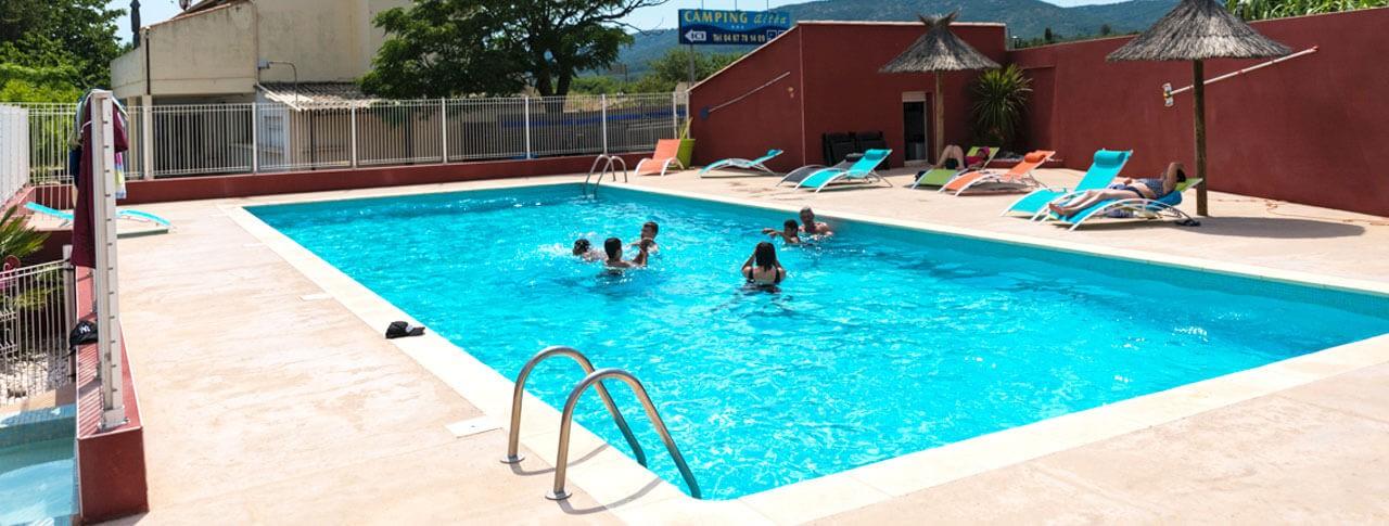 camping altea piscine