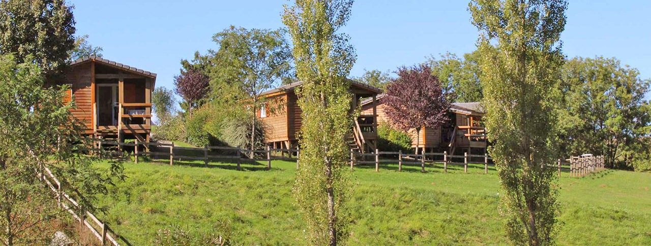 camping Lac de Bonnefon chalets
