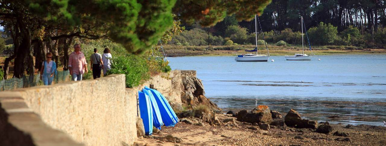 camping Le Conleau lac