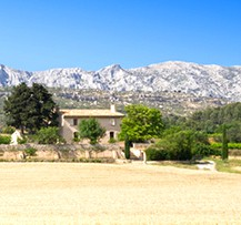 camping provence montagne