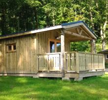 Location de chalet en camping