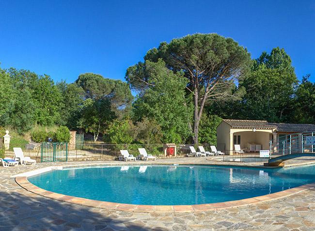 Camping la rouill re ramatuelle 83 var provence - Camping saint tropez avec piscine ...