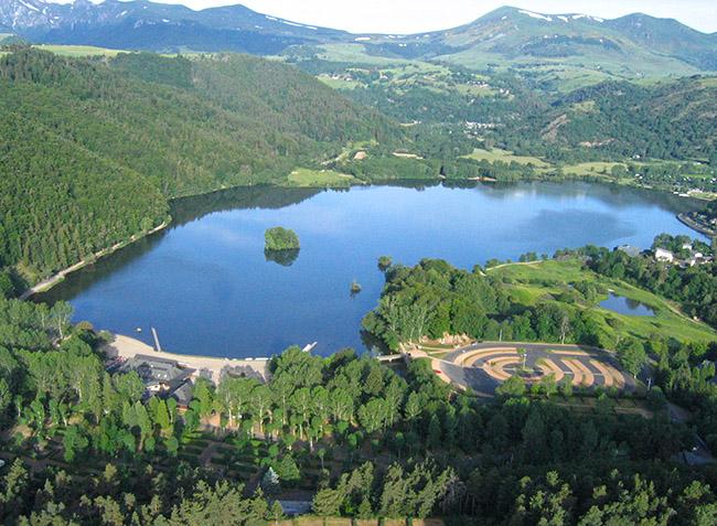 Incroyable Camping La Plage Verte Mont Dore #11: Map Photos | Daiit.com