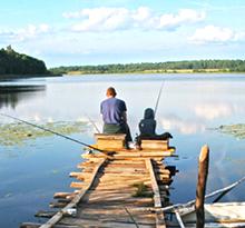 Camping p che campings avec rivi re tang ou lac pour for Camping avec etang de peche et piscine