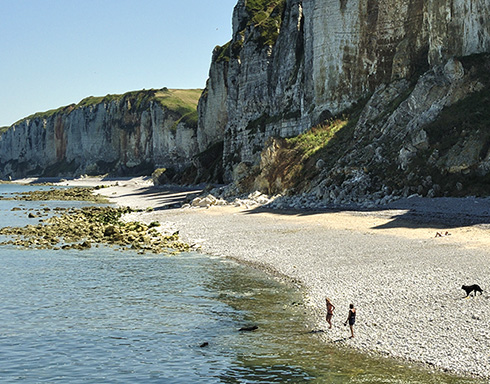 Camping normandie vacances en camping de bord de mer ou for Camping avec piscine normandie