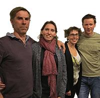 Cathy & Edouard, Virginie & Grégoire - Camping Les Murmures du Lignon - Auvergne