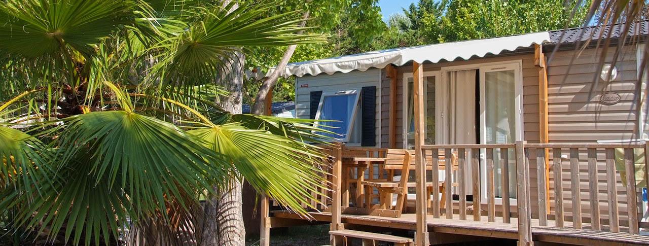 camping Le Fréjus location de mobilhomes en Côte d'Azur