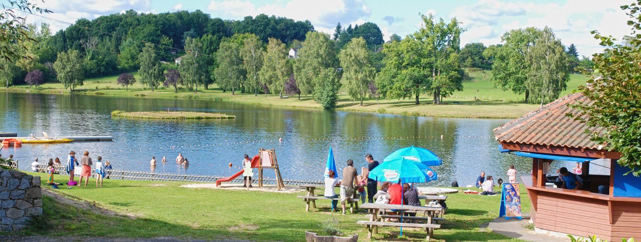 Camping L Air Du Lac Saint Hilaire Les Places 87
