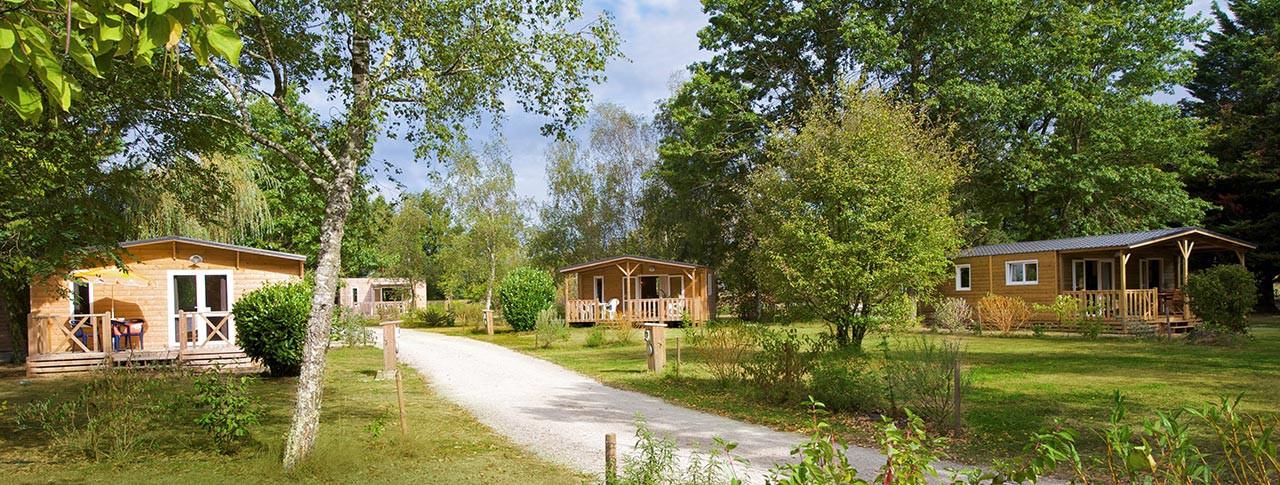 Camping Lac de la Chausselière chalets