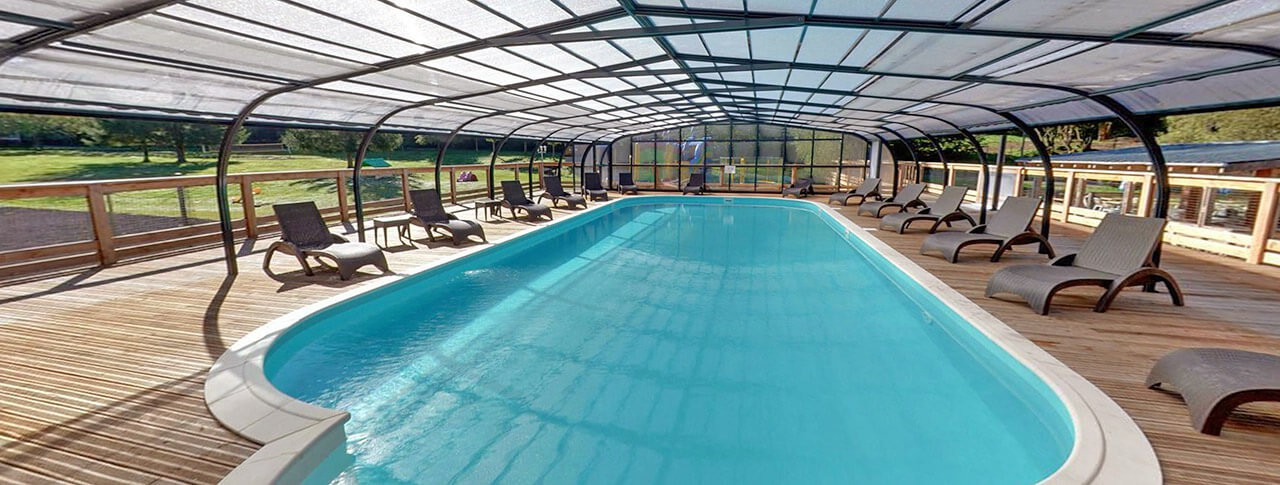 camping Les Vernières piscine couverte