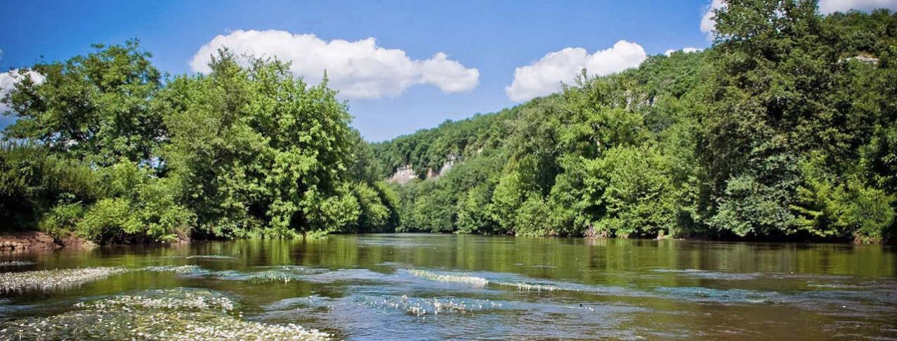 camping La Sagne accès rivière Dordogne