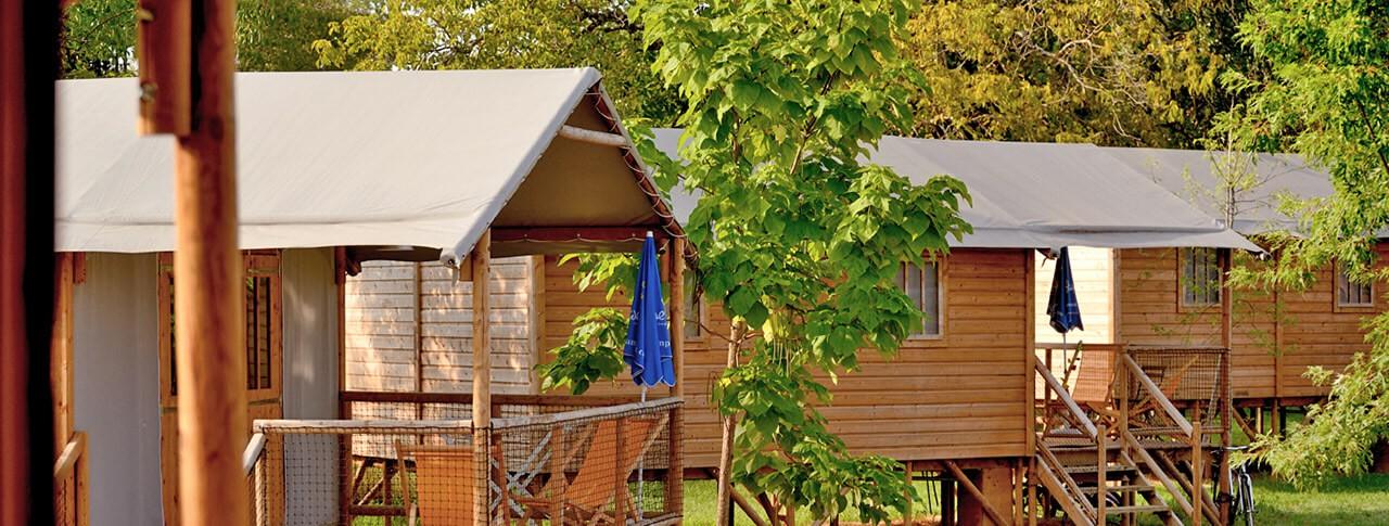camping Les Ondines cabanes en bois