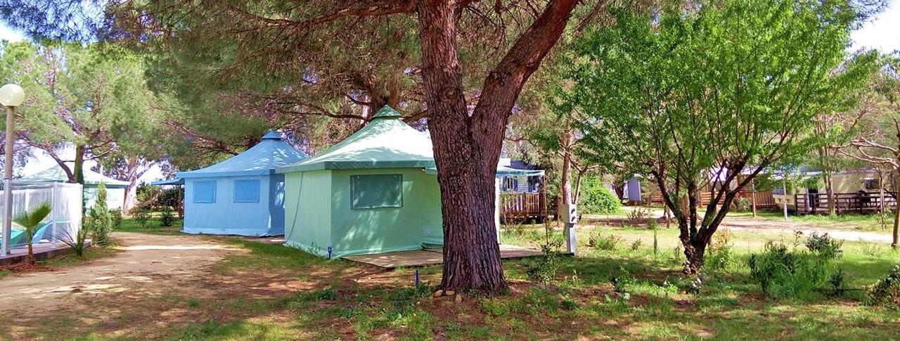 camping Le Mas de Mourgues tentes