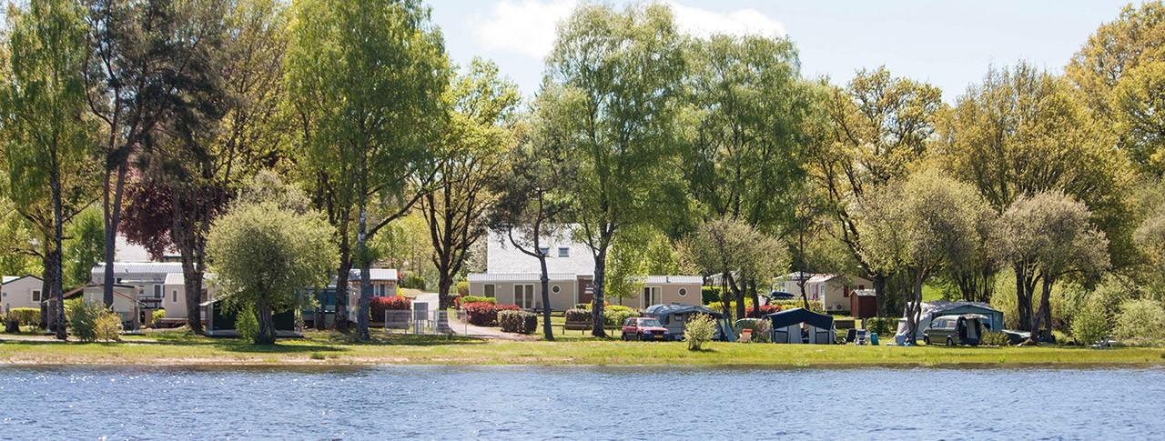 camping Le Port de Neuvic vue du camping