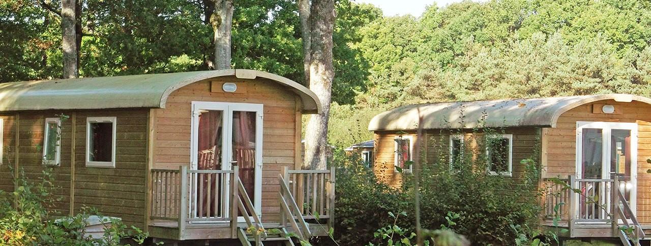 camping de la Forêt location de roulottes à Sillé-le-Guillaume