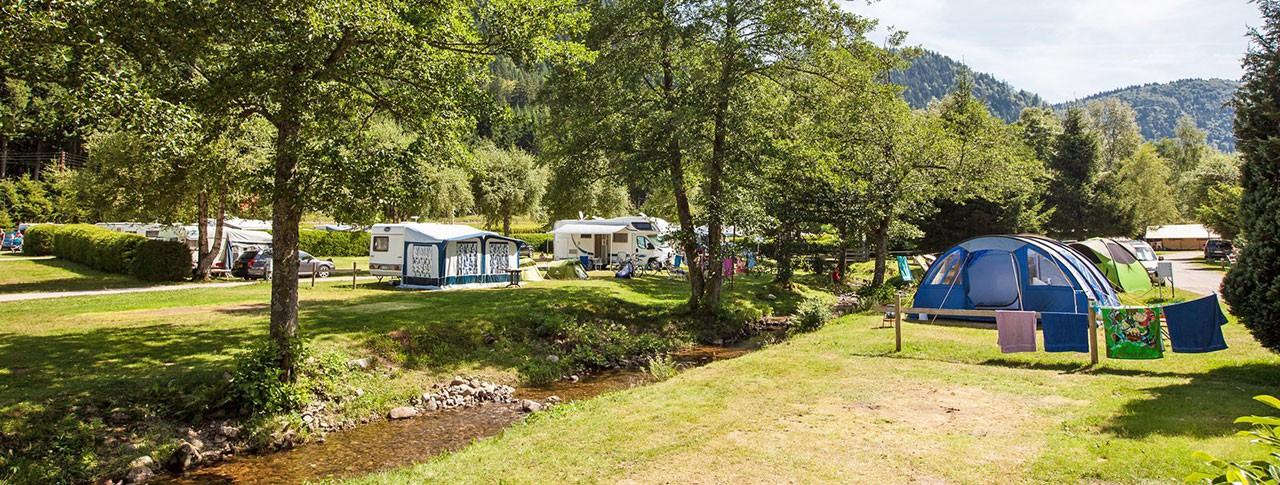 camping Verte Vallée location d'emplacements pour tentes à Xonrupt Longemer