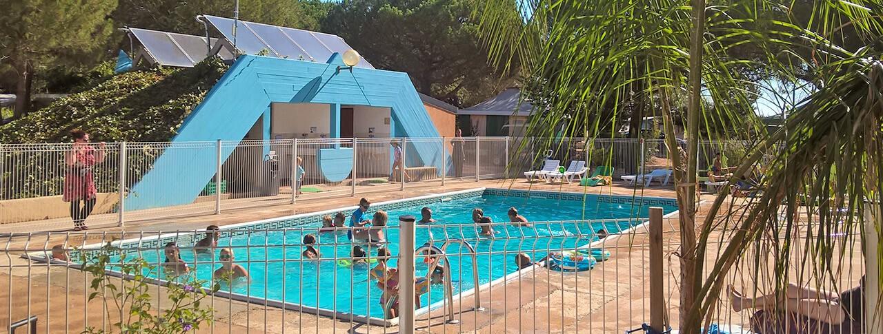 Camping mas de mourgues piscine exterieure