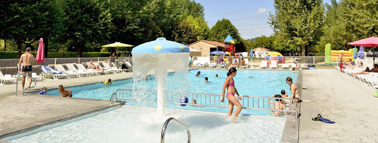camping Les Ondines piscine extérieure