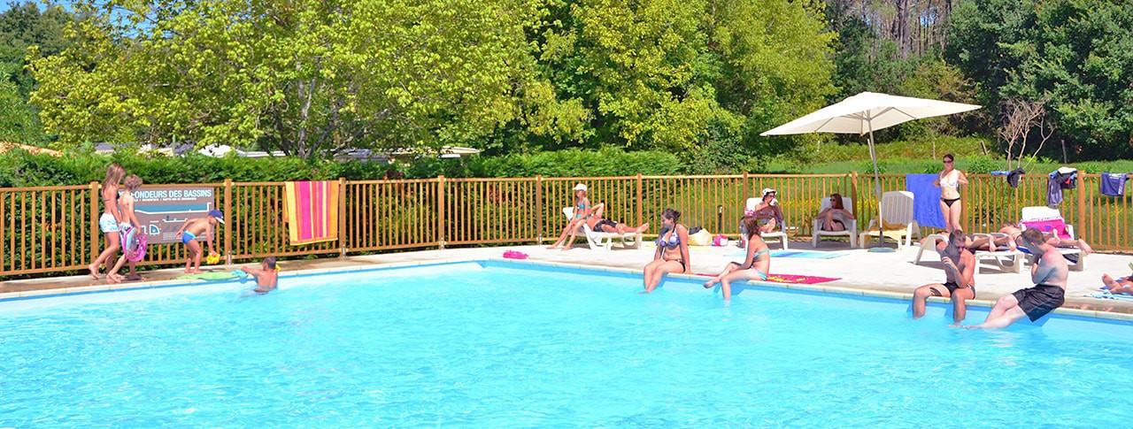Camping La Clairiere piscine exterieure