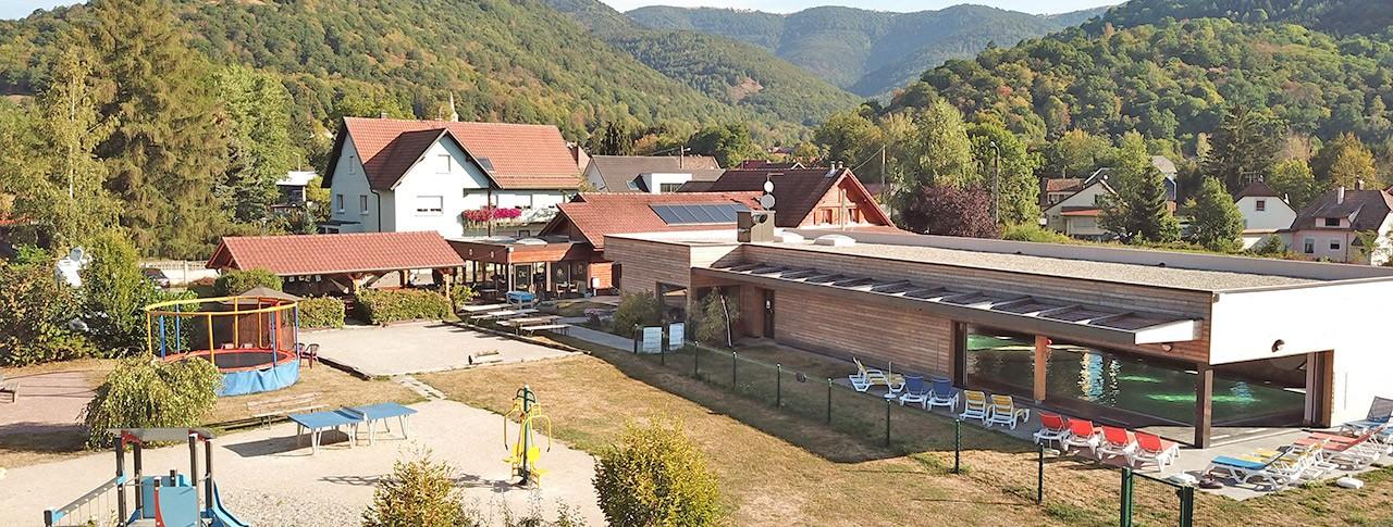 Camping Les Bouleaux Piscine couverte Spa Vosges Jura