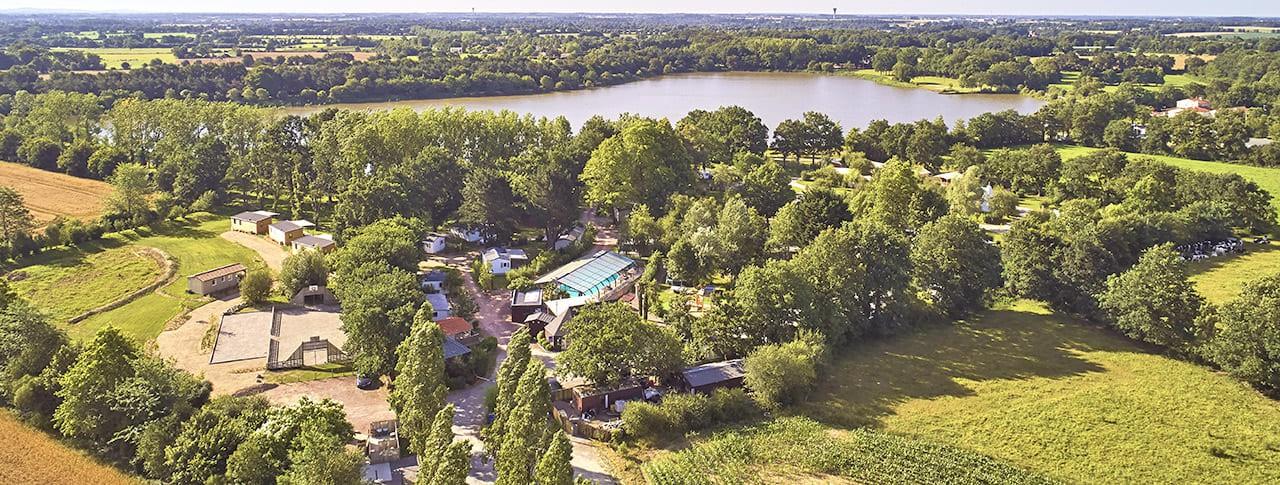 Camping Lac de la Chausselière lac Vendée
