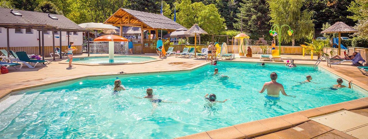 Camping Le Pont du Tarn piscine Florac
