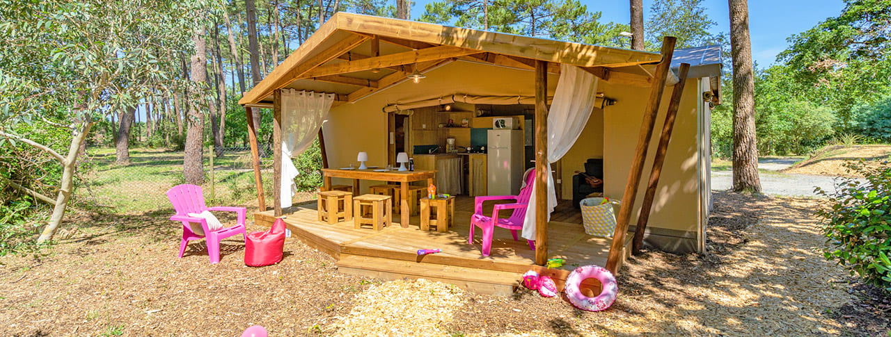 Camping des Pins Cabanes Soulac