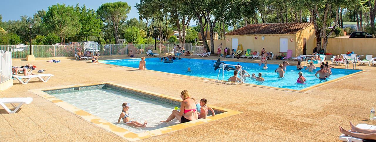 Camping le Provençal piscine Saint-Maximin