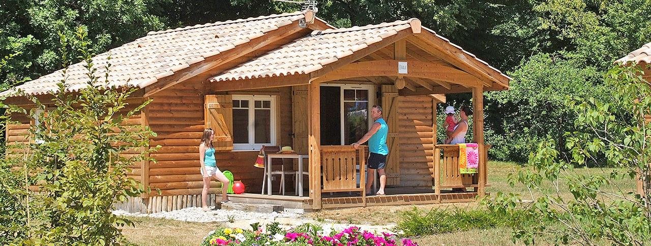 Camping Le Château chalet