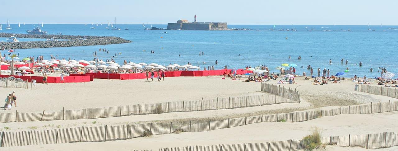 Camping Cap d'Agde plage richelieu