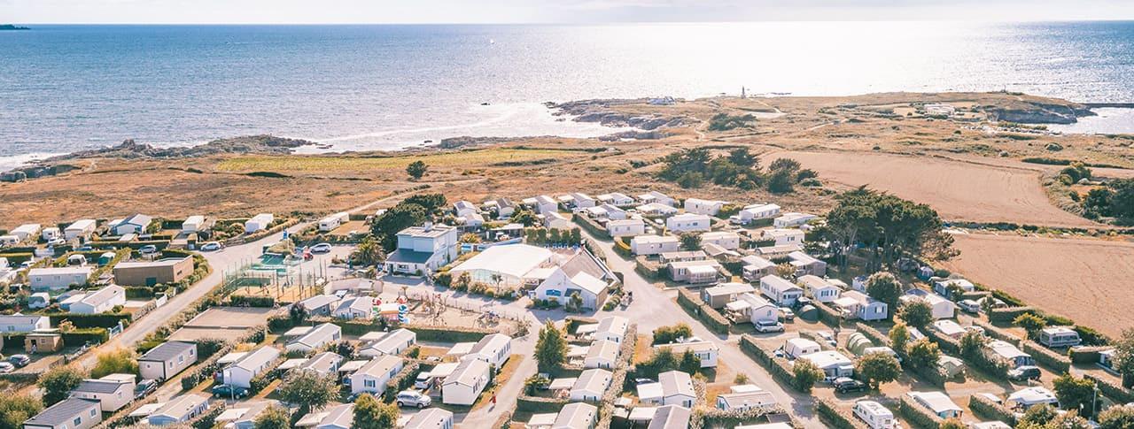 Camping La Pointe du Talud bord de mer près de Lorient