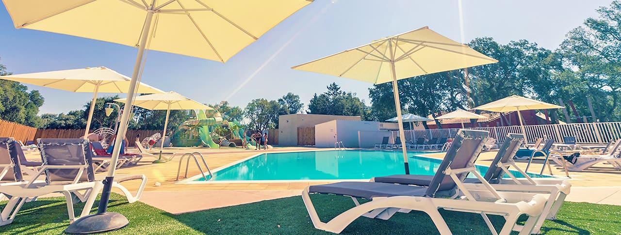 Camping Les Chênes Rouges piscine Argeles sur Mer