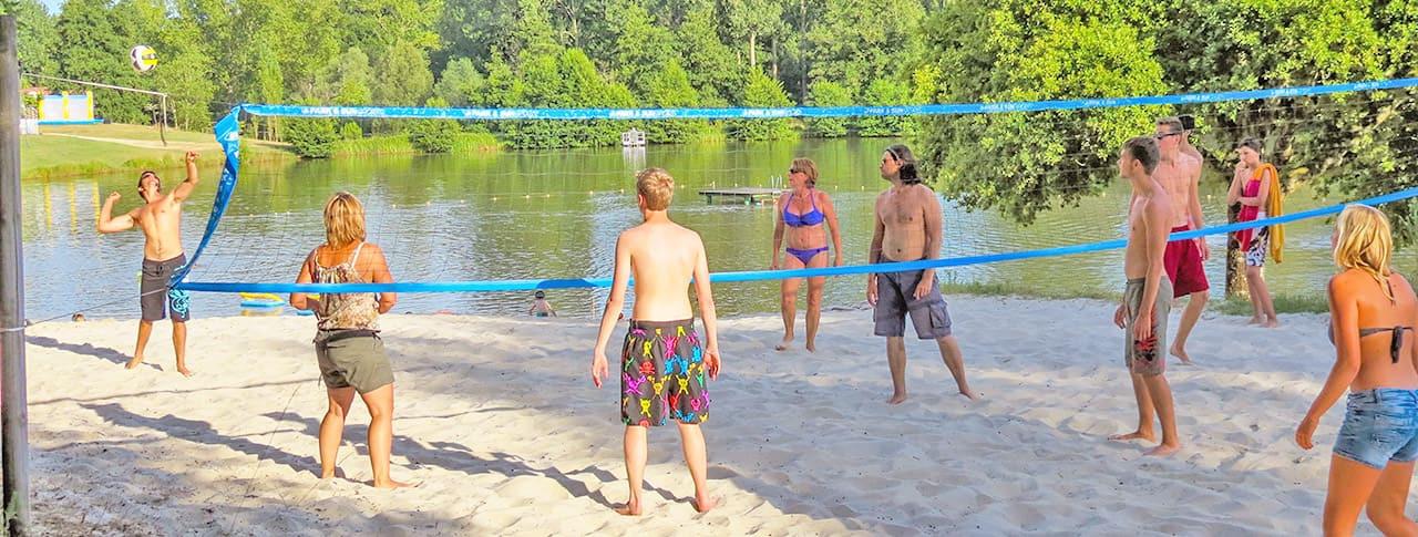 Camping Lac de Lislebonne beach volley