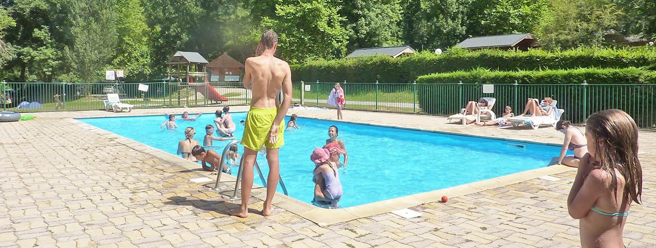 Camping La Bexanelle piscine vicdessos