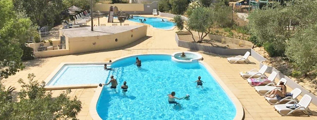 Camping Fondespierre piscine Montpellier