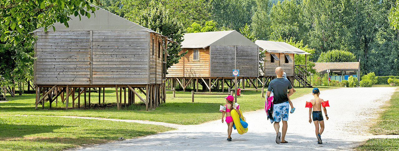 camping les ondines cabanes