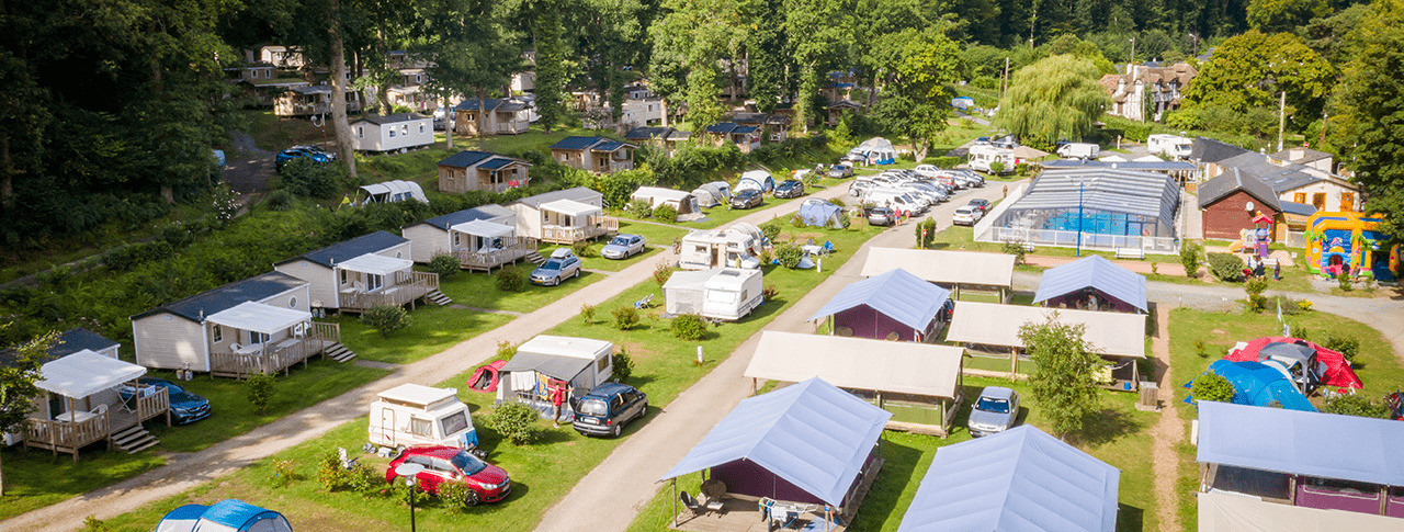camping La Chenaie location mobilhome Normandie