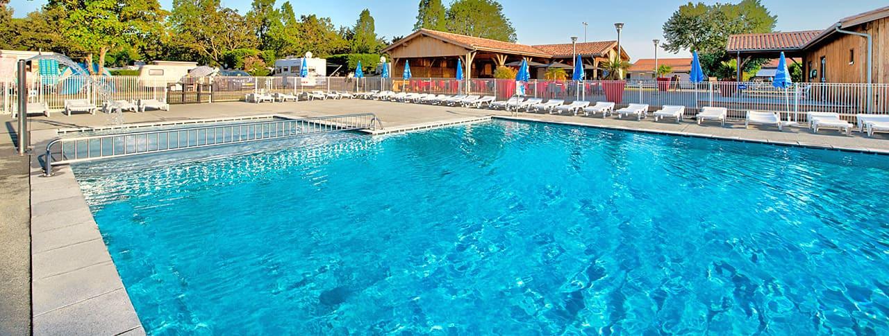 Camping Le Bel Air piscine Ile de Ré