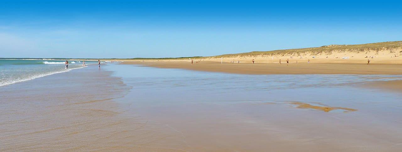Camping Le Pré des Sables plage L'Aiguillon-sur-mer