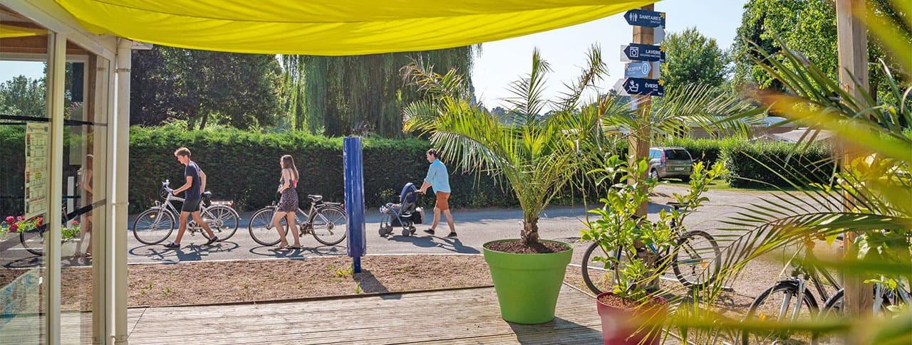 Camping La Promenade réception