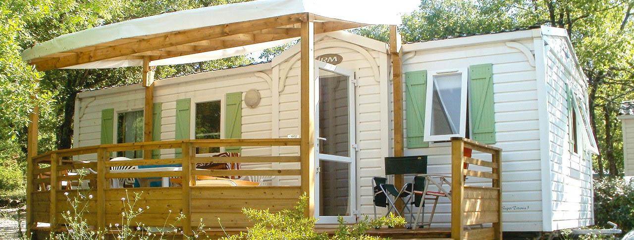 Mobile-homes Banon Camping l'Épi Bleu