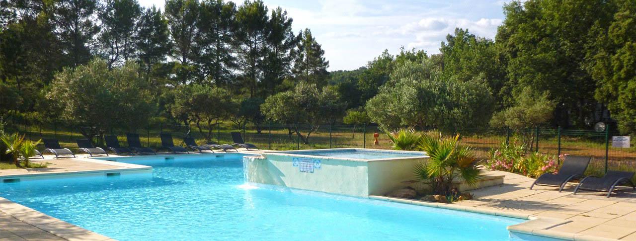 Camping le relais de la bresque piscine