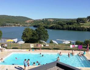 camping Le Lac du Causse piscine