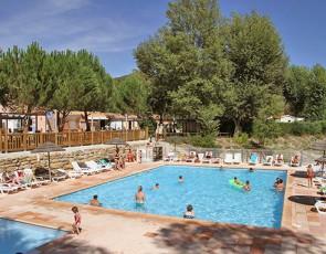 camping La Rivière piscine