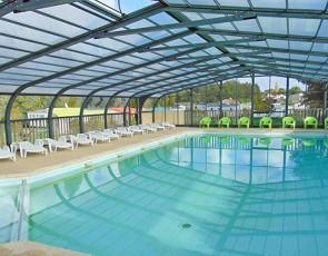camping Beauchêne piscine couverte chauffée à Avrillé
