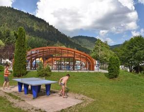 camping Verte Vallée piscine couverte chauffée à Xonrupt Longemer