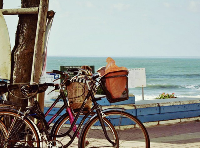 Camping Soulac sur Mer plage vélos-3