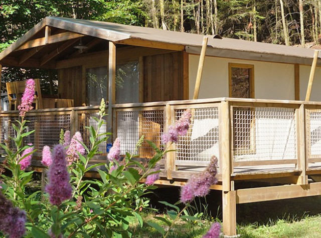 Camping La Plage cabane lodge-3