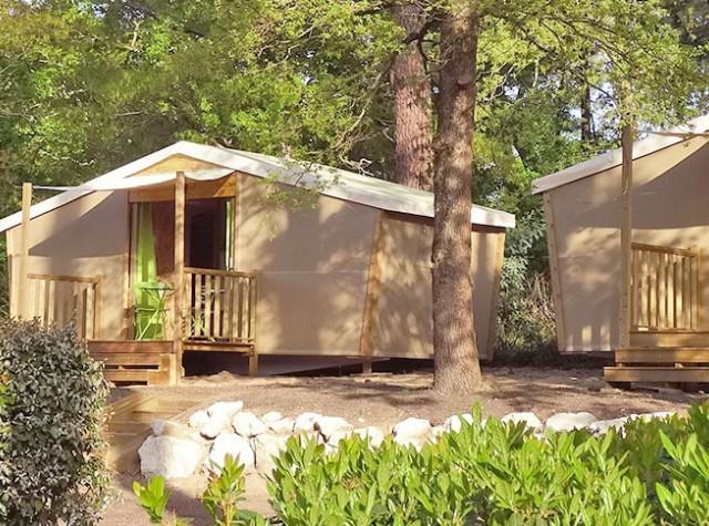 Camping Les Côtes de Saintonge cabanes-2